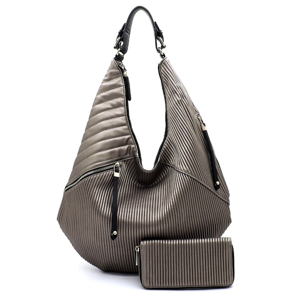 My Bag Lady Online Handbags - Hobo Handbag and Wallet Set